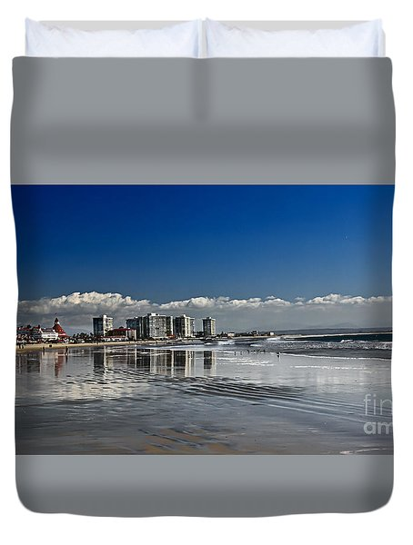 San Diego Duvet Cover by Robert Bales