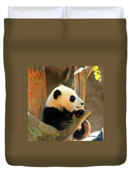 San Diego Zoo Panda Bear Xiao Liwu Duvet Cover