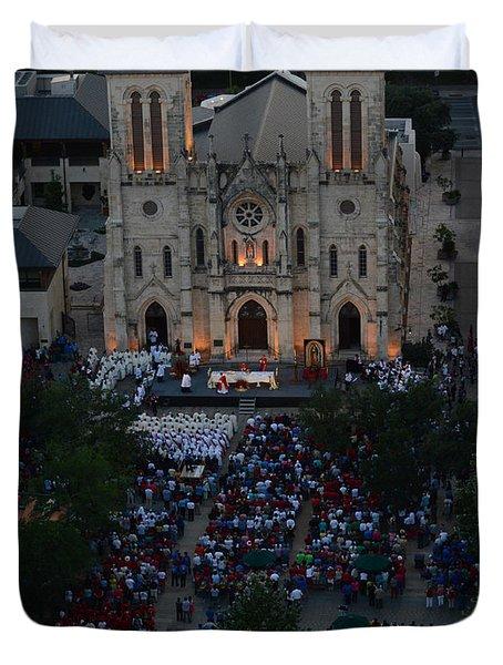 San Fernando Cathedral 001 Duvet Cover