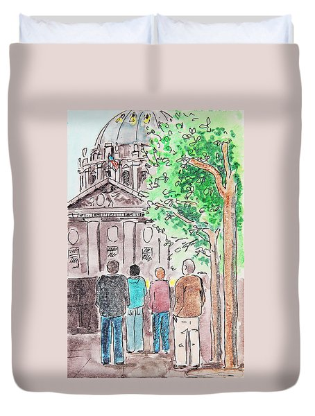 San Francisco City Hall Duvet Cover