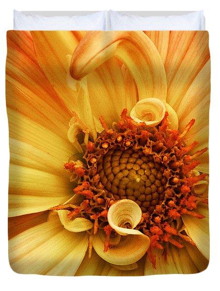San Francisco Flower Duvet Cover