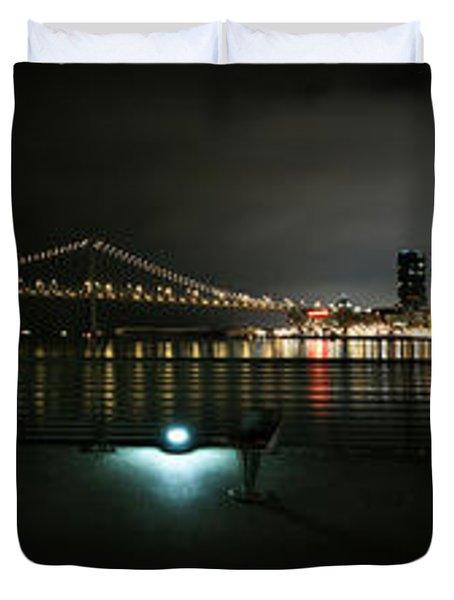 San Francisco Panorama Duvet Cover
