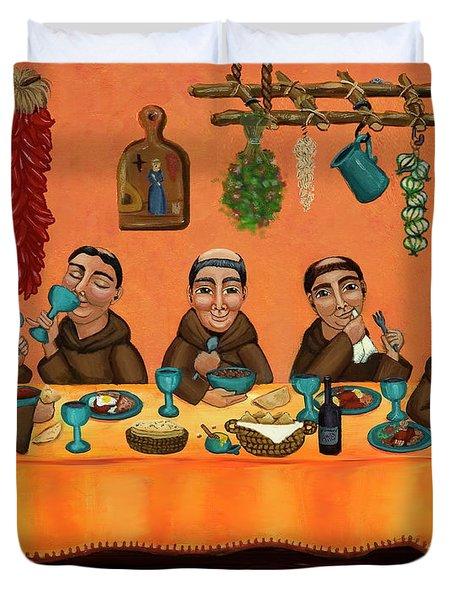 San Pascuals Table Duvet Cover