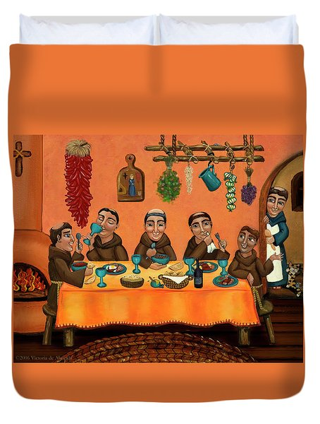 San Pascuals Table Duvet Cover