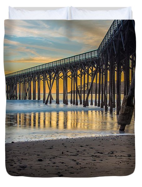 San Simeon Afternoon Duvet Cover