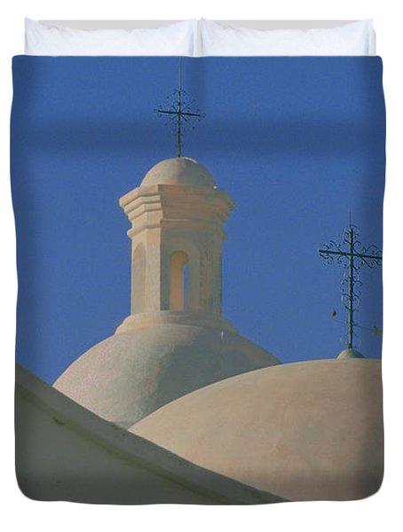 San Xavier Del Bac Duvet Cover