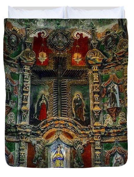 San Xavier Mission Duvet Cover