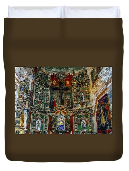 San Xavier Mission Duvet Cover