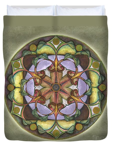 Sanctuary Mandala Duvet Cover