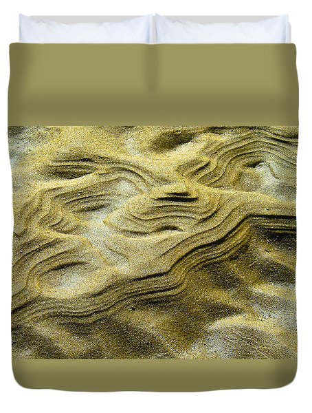 Sand Drift Duvet Cover