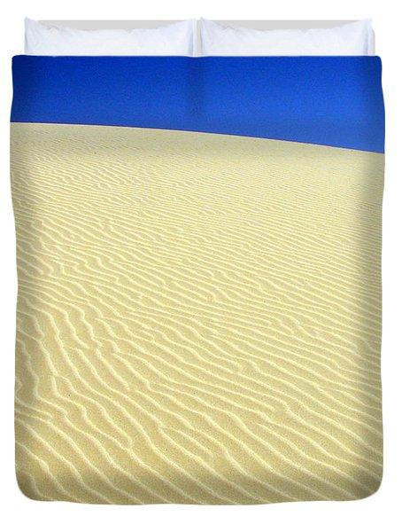 Sand Dune Duvet Cover by Ramona Johnston