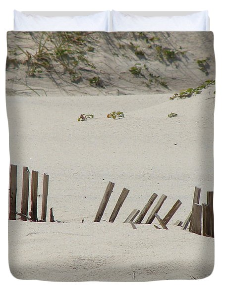 Sand Dunes At Gulf Shores Duvet Cover
