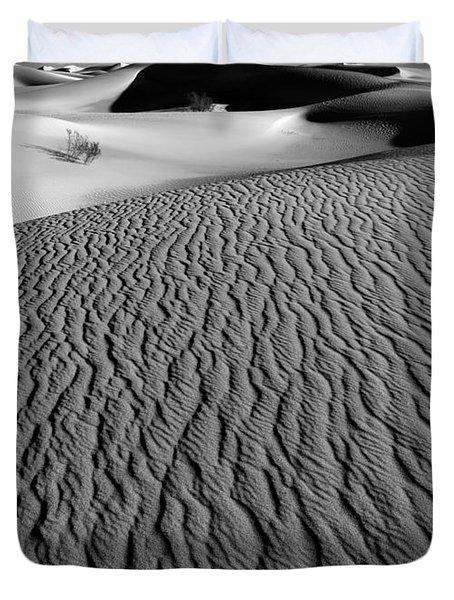 Sand Dunes - Bw Duvet Cover