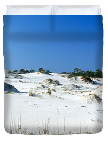 Sand Dunes In A Desert, St. George Duvet Cover by Panoramic Images