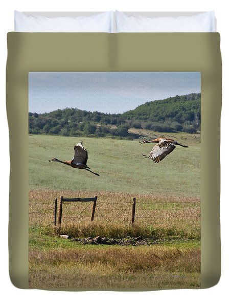 Sand Hill Lift Off Duvet Cover