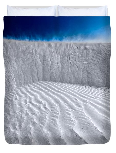 Sand Storm Brewing Duvet Cover