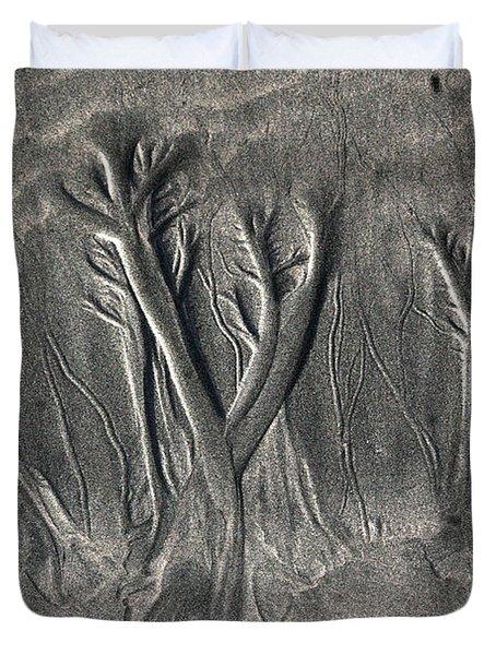 Sand Trees Duvet Cover