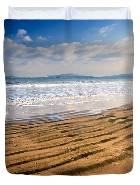 Sand Waves Duvet Cover by Evgeni Dinev