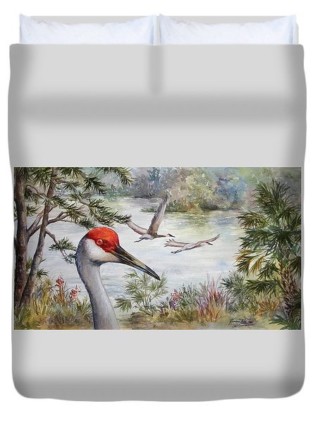 Sandhill View Duvet Cover