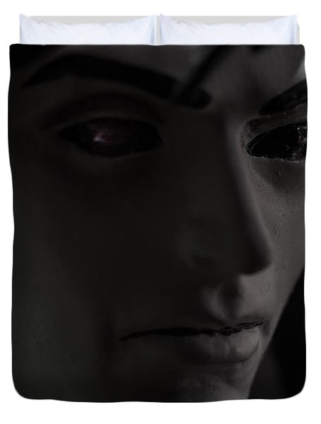 Sandman Portrait - Morpheus Duvet Cover by Jim Shackett