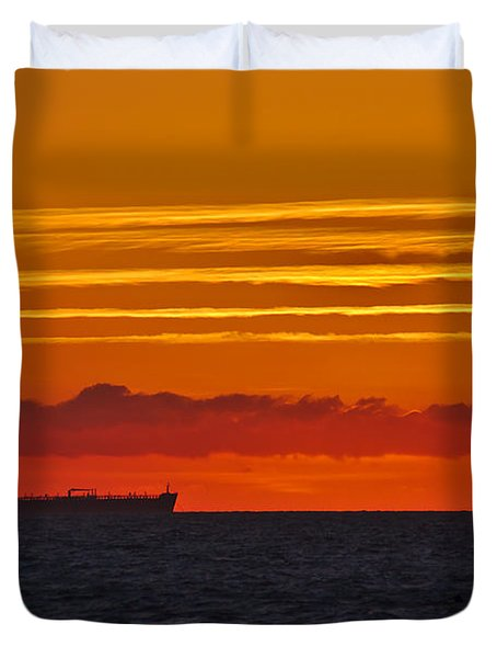 Sandown Sunrise Duvet Cover