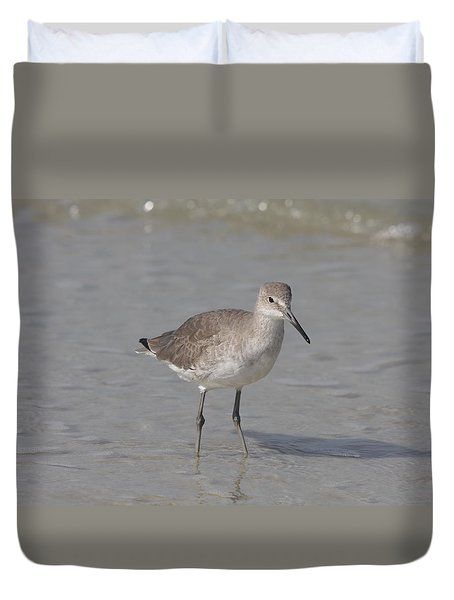 Sandpiper Duvet Cover by Christiane Schulze Art And Photography