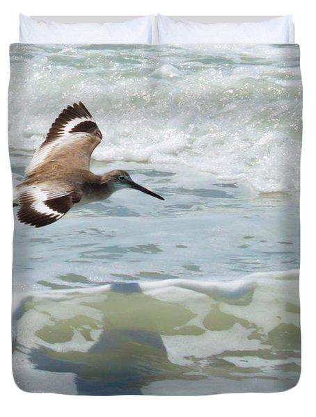 Sandpiper Flight Duvet Cover
