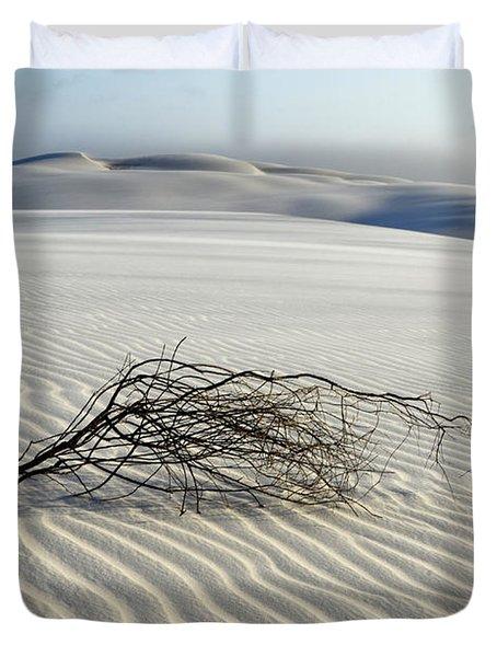 Sands Of Time Brazil Duvet Cover by Bob Christopher
