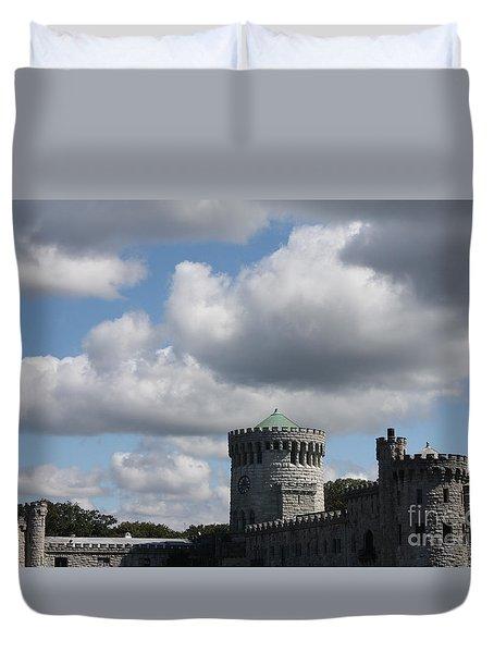 Sands Point Castle Duvet Cover by John Telfer