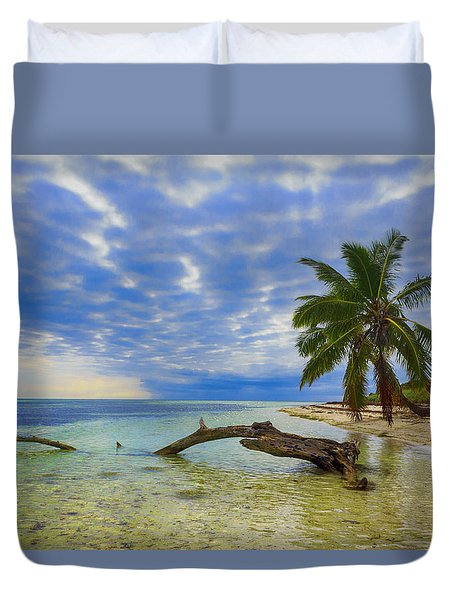 Sandspur Beach Duvet Cover