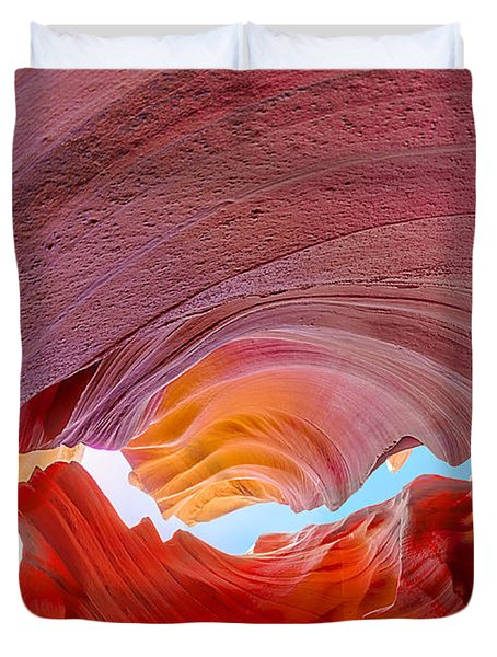 Sandstone Chasm Duvet Cover