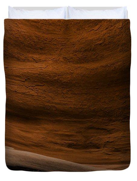 Sandstone Flow Duvet Cover