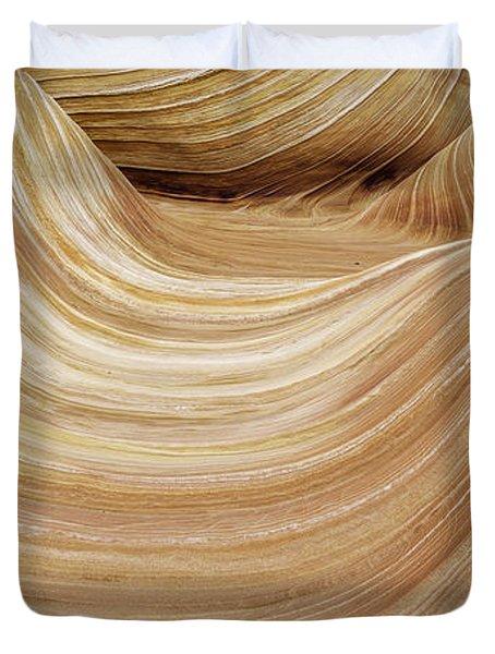 Sandstone Lines Duvet Cover