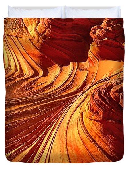 Sandstone Silhouette Duvet Cover