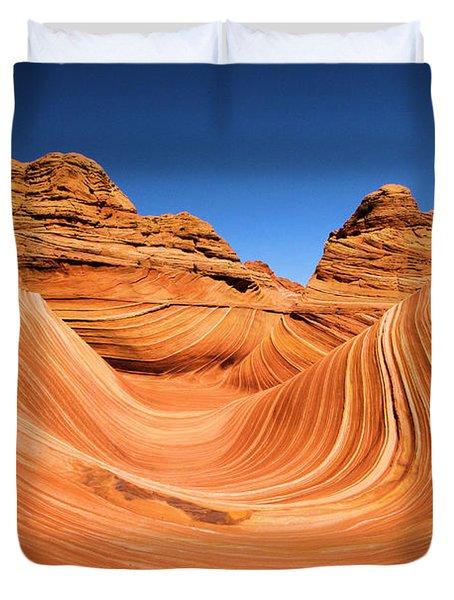 Sandstone Surf Duvet Cover