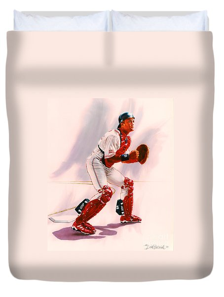 Sandy Alomar Duvet Cover