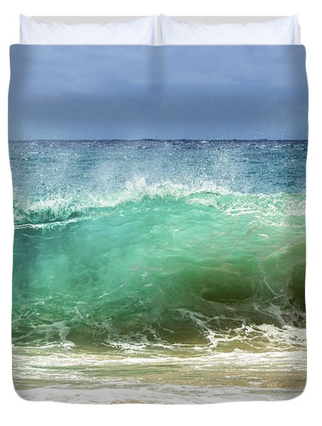 Sandy Beach Shorebreak 1 Duvet Cover