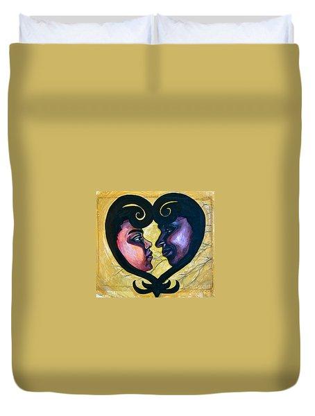 Sankofa Love Duvet Cover