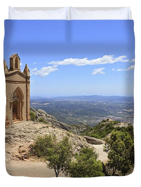 Sant Joan Chapel Spain Duvet Cover
