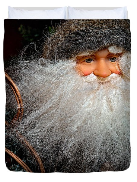 Santa Claus Duvet Cover by Christopher Holmes