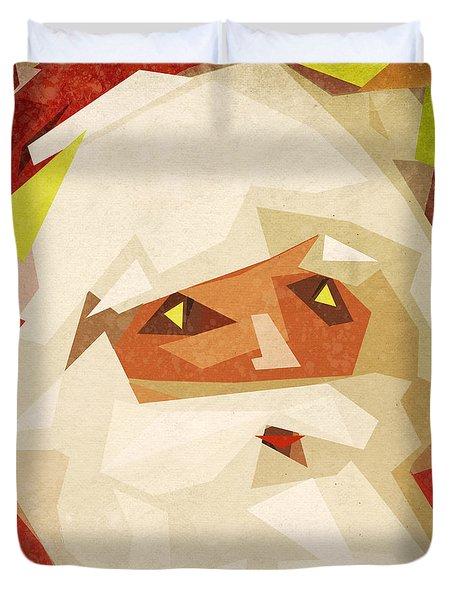 Santa Claus Duvet Cover by Setsiri Silapasuwanchai
