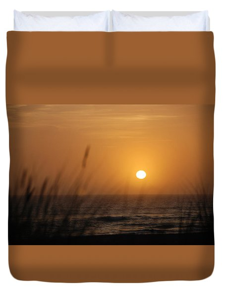 Santa Cruz Sunset Duvet Cover