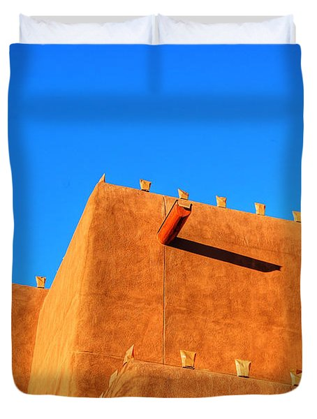 Santa Fe Adobe Duvet Cover