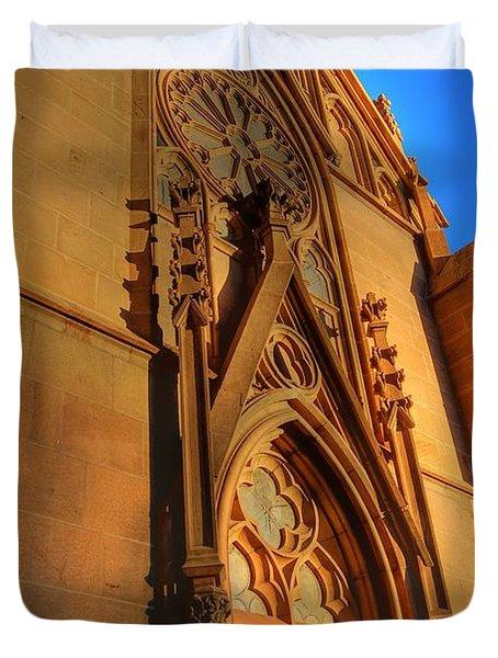 Santa Fe Church Duvet Cover