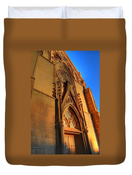 Santa Fe Church Duvet Cover