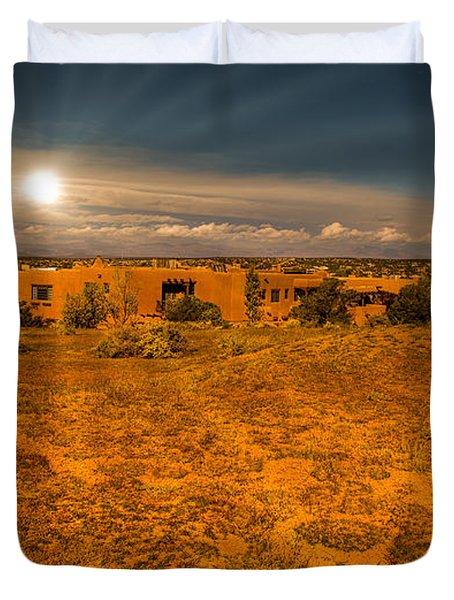 Santa Fe Landscape Duvet Cover