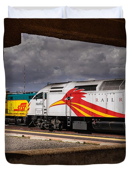 Santa Fe Train Duvet Cover