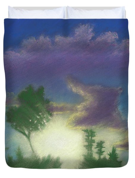 Santee Sunset 02 Duvet Cover