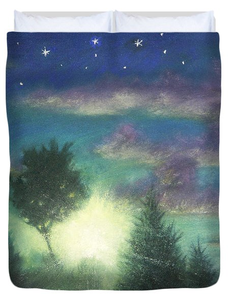 Santee Sunset 03 Duvet Cover