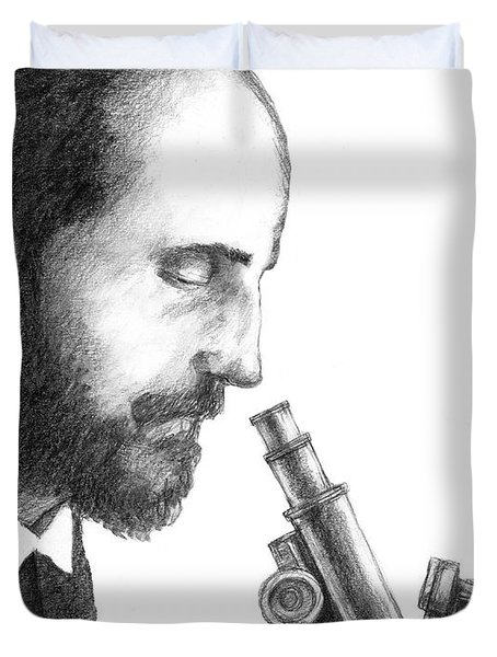 Santiago Ramon Y Cajal, Scientist Duvet Cover
